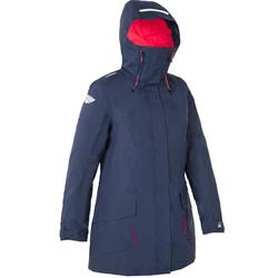 500 Women's Sailing Parka Jacket - Blue