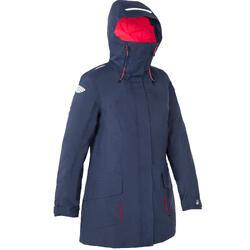 500 女性航海運動派克大衣夾克 - 藍色