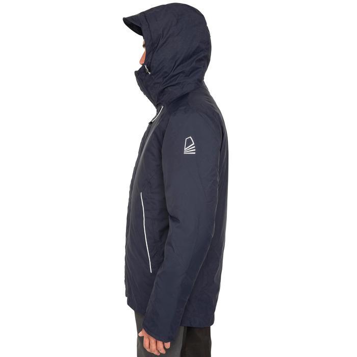 Segeljacke warm 100 Herren marineblau