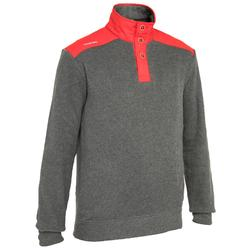 Jersey náutico para hombre CRUISE gris / rojo