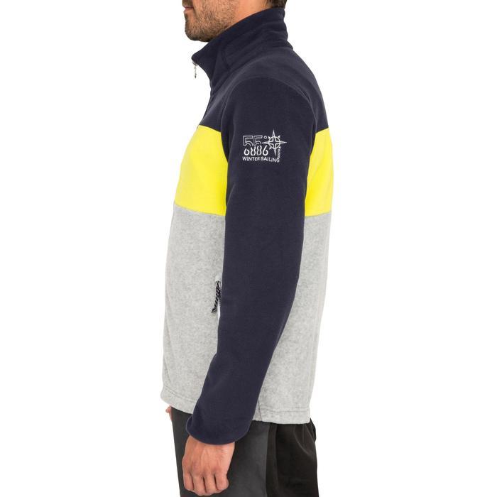 Polaire bateau homme RACE tricolore bleu foncé - 1231459