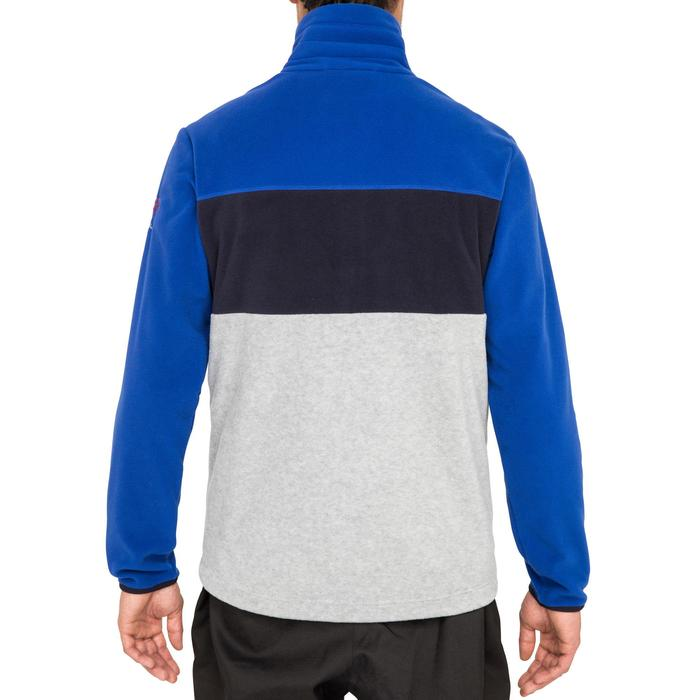 Polaire bateau homme RACE tricolore bleu foncé - 1231533