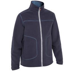 Cruise 男士航海刷毛外套- 深藍/海軍藍