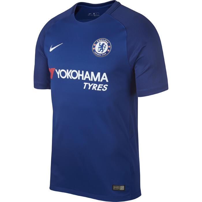 Maillot réplique de football adulte Chelsea domicile bleu - 1231560
