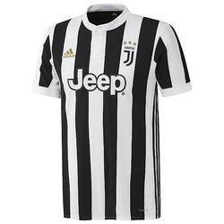 Voetbalshirt Juventus thuisshirt 17/18 voor volwassenen wit/zwart