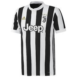 Voetbalshirt Juventus thuisshirt 17/18 voor kinderen wit/zwart