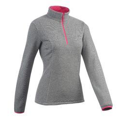 MH100 Woman's Mountain Hiking Fleece Design+ Indigo