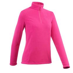 MH100 Classic Women's Mountain Hiking Fleece - Pink