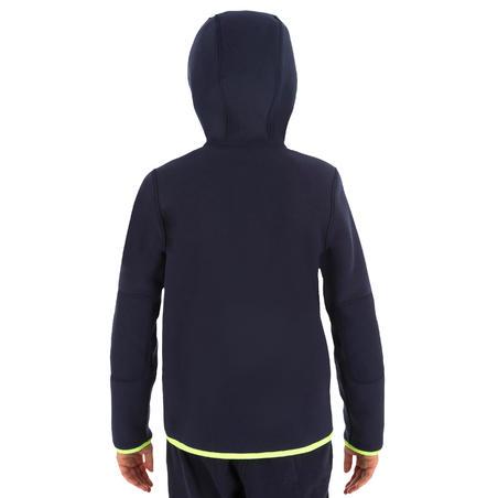Дитяча флісова кофта 500 для вітрильного спорту флісовий - Темно-синя