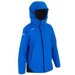 男孩款航海保暖雨衣100-亮藍色