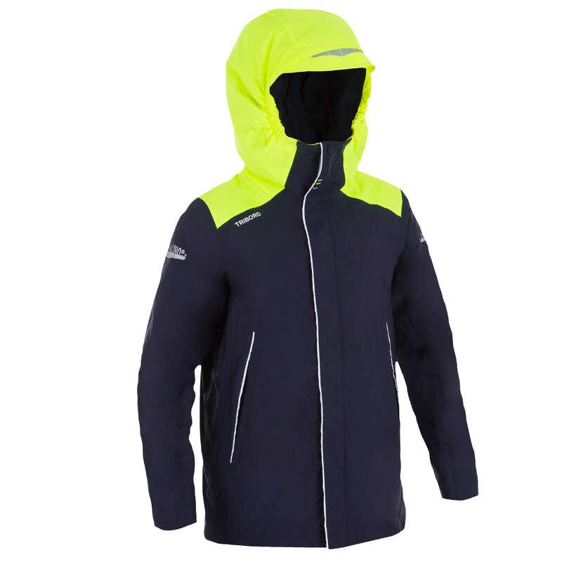 VARMA SEGLARJACKOR JUNIOR Barnkläder - Seglarjacka varm 100 junior TRIBORD - Underställ, mössor, vantar och regnkläder