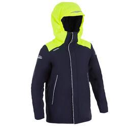 Warme zeiljas 100 voor jongens blauw/geel