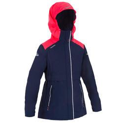 Chubasquero cálido náutico 100 niña rosa azul 15621ea8834