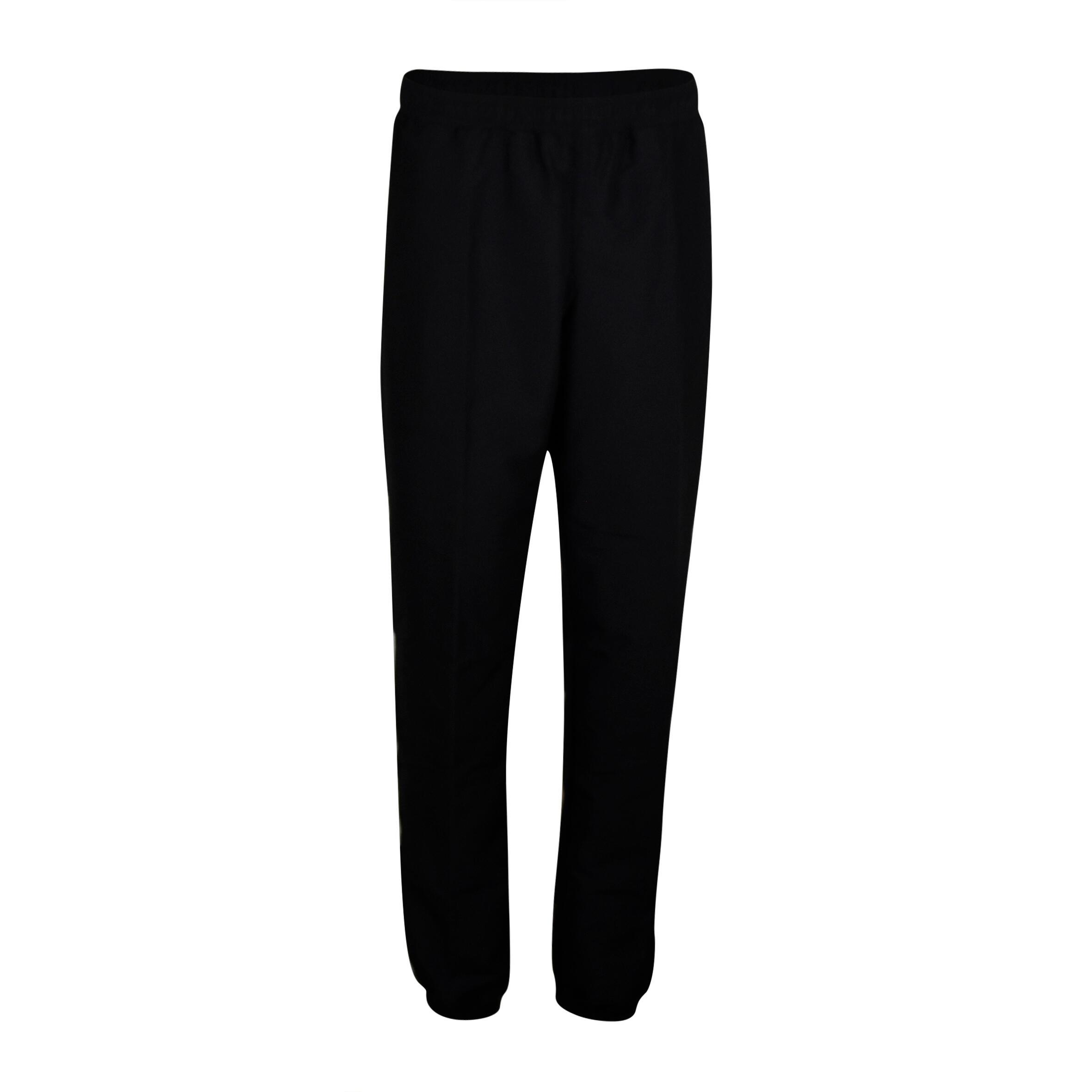 Pantalon survêtement entraînement cardio homme noir FPA100