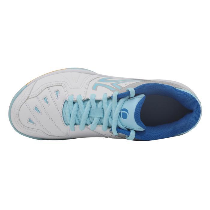 BS800 女性羽毛球及壁球運動鞋 - 白色/藍色
