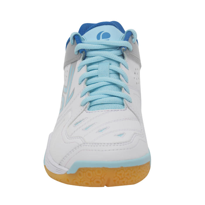 BS800 Women's Badminton and Squash Shoes - White/Blue - 1231998