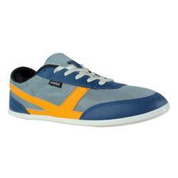 Walking shoes for men many mesh - Grey orange