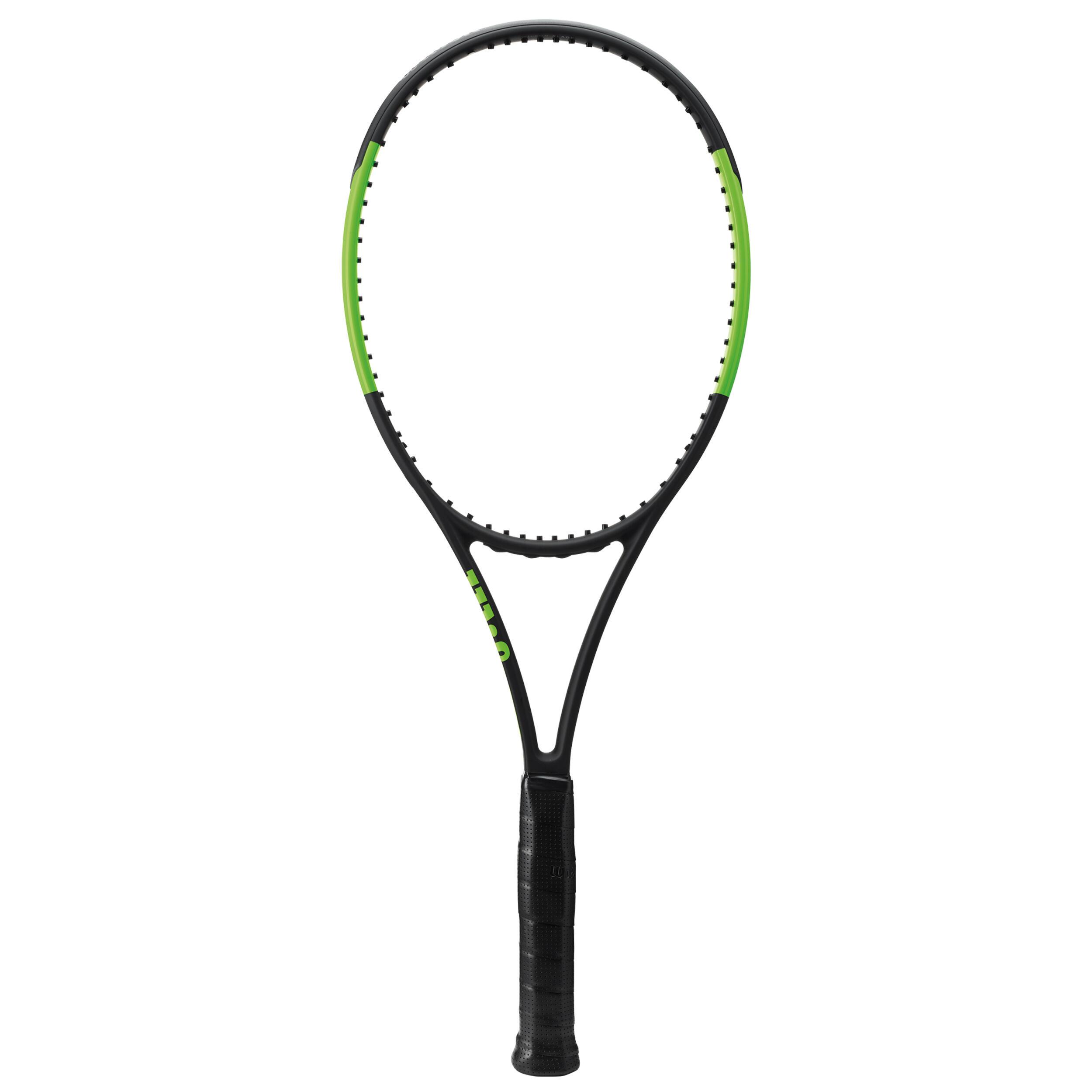 Tennisschläger Blade 98 L besaitet schwarz/grün