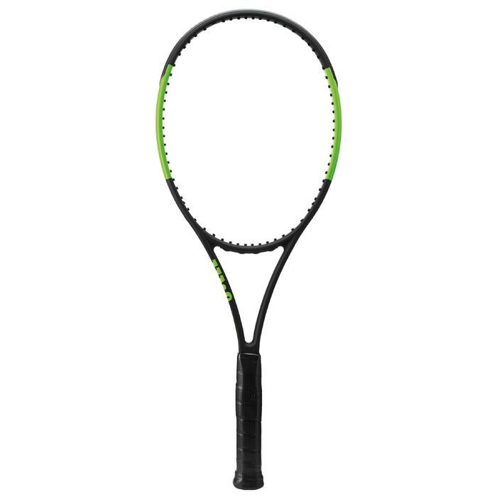 Tennisschläger Blade 98L Erwachsene schwarz/grün