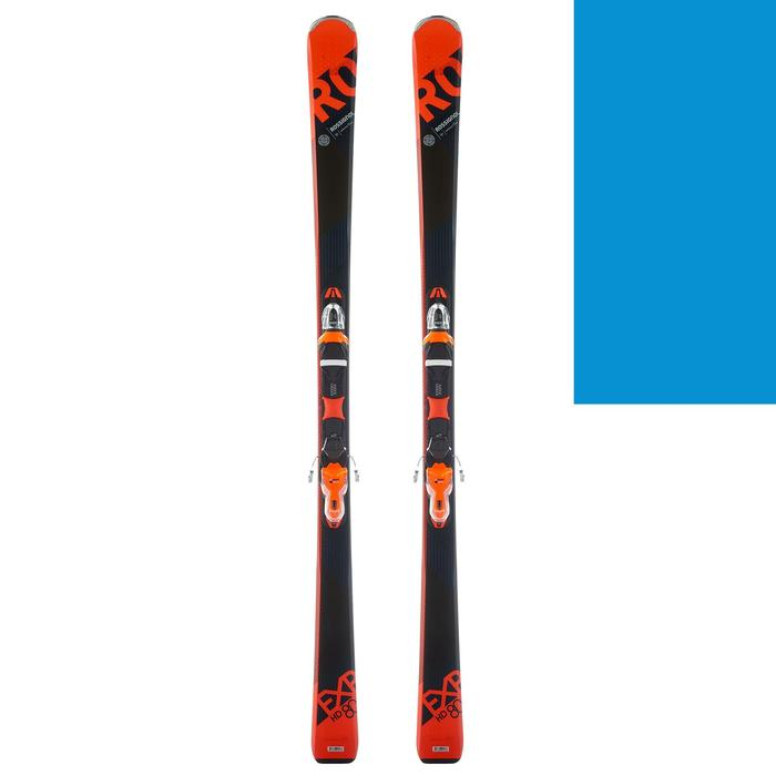 SKIS DE PISTE ALLMOUNTAIN HOMME EXPERIENCE 80  ORANGE - 1232085