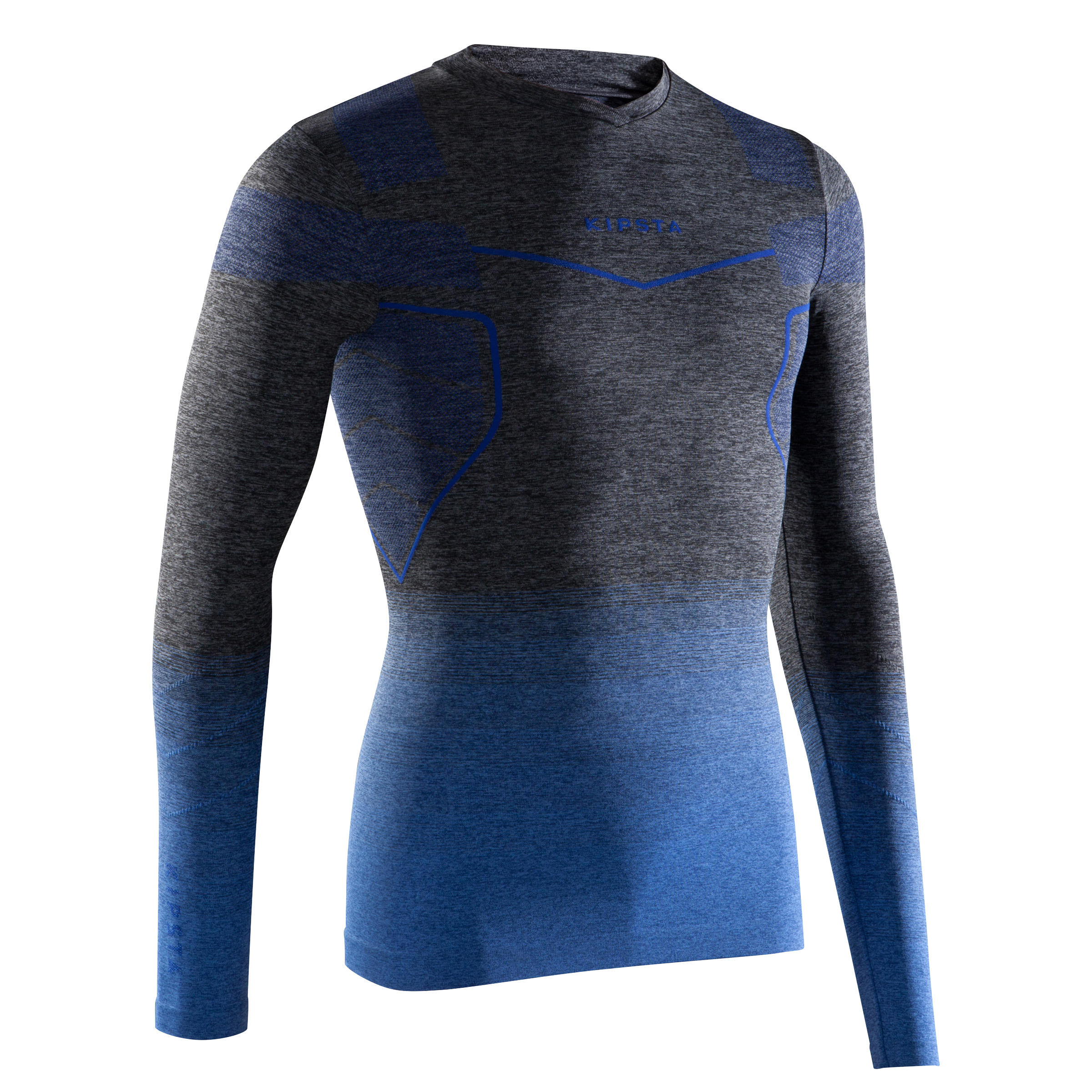 Kipsta Thermoshirt Keepdry 500 lange mouwen volwassenen