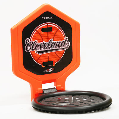 The Hoop Cleveland Kids'/Adult Basketball Basket - OrangeTransportable.