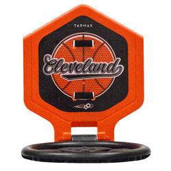 Canasta de baloncesto niños/adulto THE HOOP Cleveland naranja. Transportable.