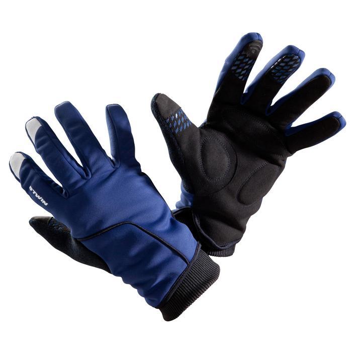 Wielrenhandschoenen RR500 marineblauw