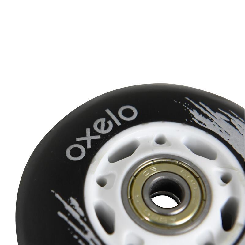 ล้อเวฟบอร์ด OXELO แพ็ค 2 ล้อ (สีดำ)