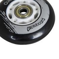 OXELO WAVEBOARD WHEELS X2 - BLACK