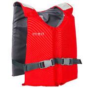 Chaleco de ayuda a la flotación BA 50 N rojo kayak stand up paddle vela ligera