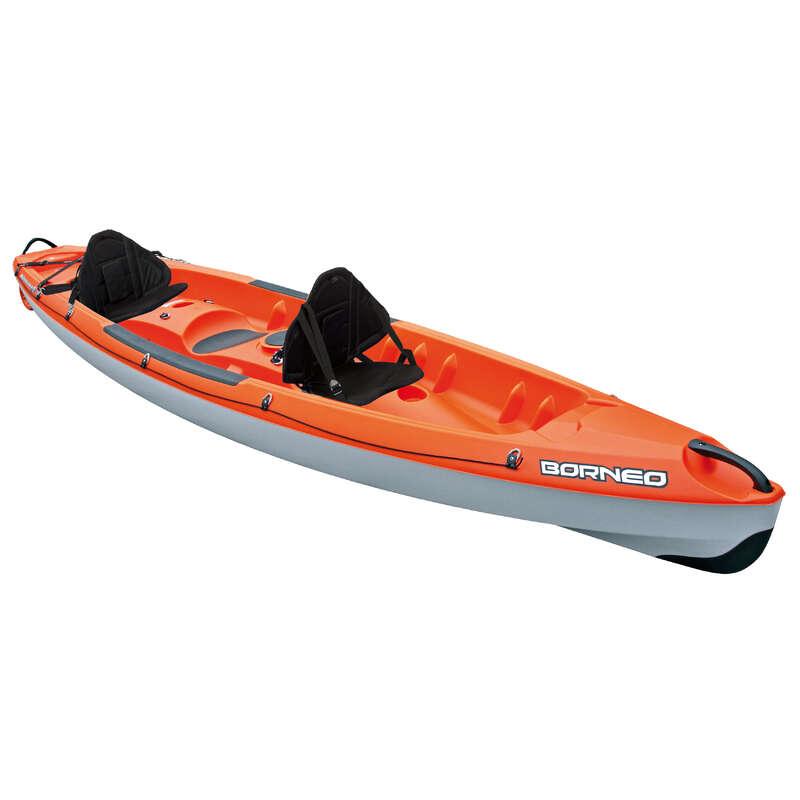 TOURING RIGID KAYAKS Kayaking - BORNEO RIGID KAYAK + BACKREST BIC - Kayaks