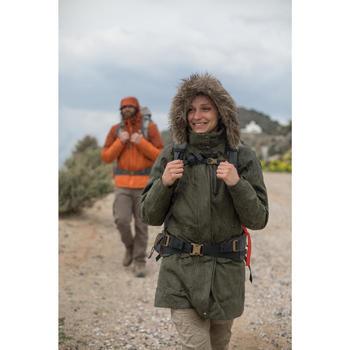 3-in-1 damesjas voor trekking Rainwarm 900 kaki