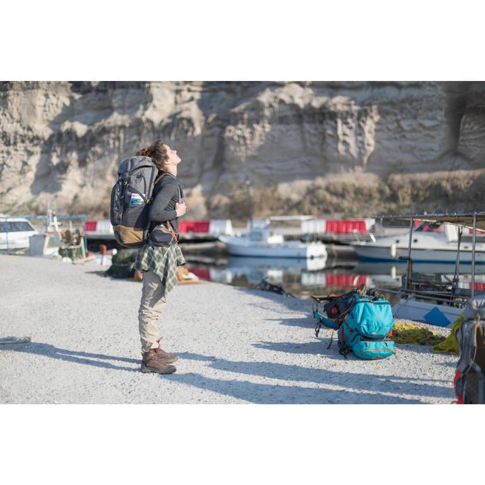 T-shirt manches longues trekking Techwool 155 laine femme - 1232446