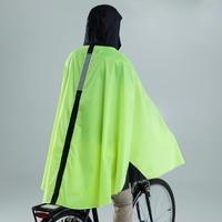 500 City Cycling Rain Poncho - Yellow