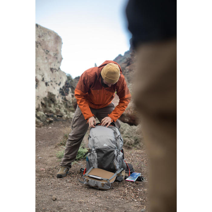 Veste trekking Rainwarm 500 3en1 homme - 1232652