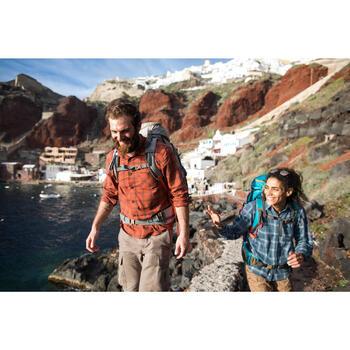 Chemise trekking Arpenaz 100 warm homme carreaux - 1232699