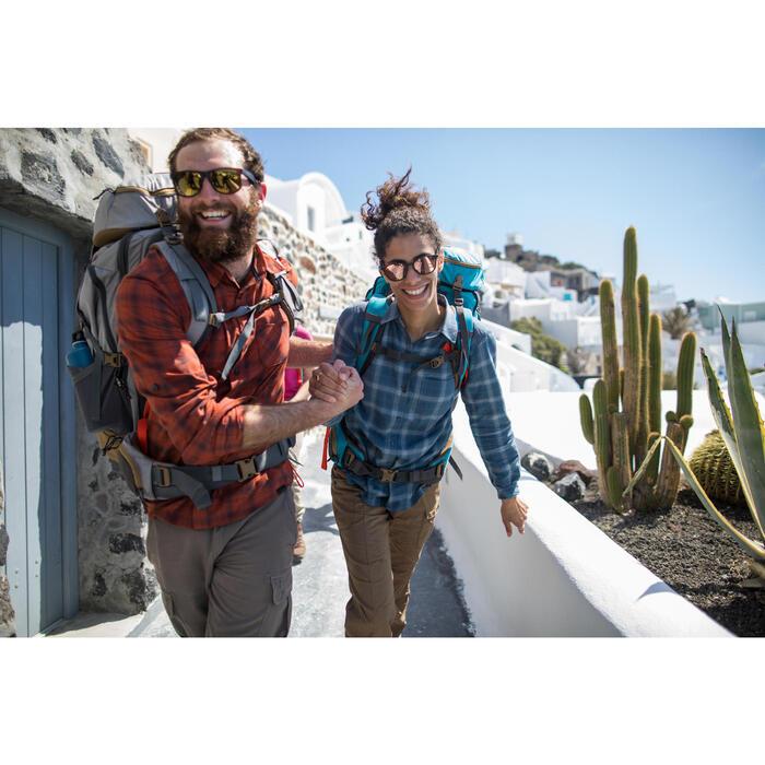 Chemise trekking Arpenaz 100 warm homme carreaux - 1232720