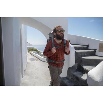 Chemise trekking Arpenaz 100 warm homme carreaux - 1232722