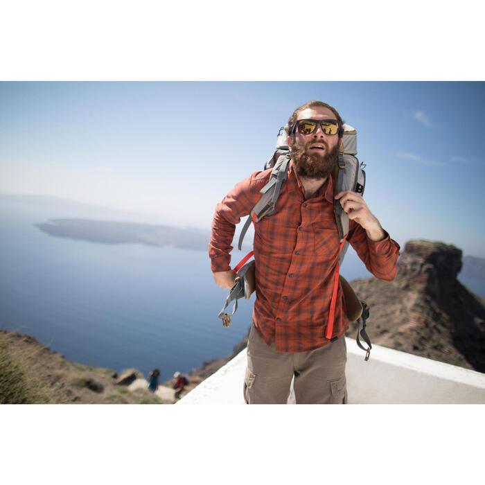 Chemise trekking Arpenaz 100 warm homme carreaux - 1232741