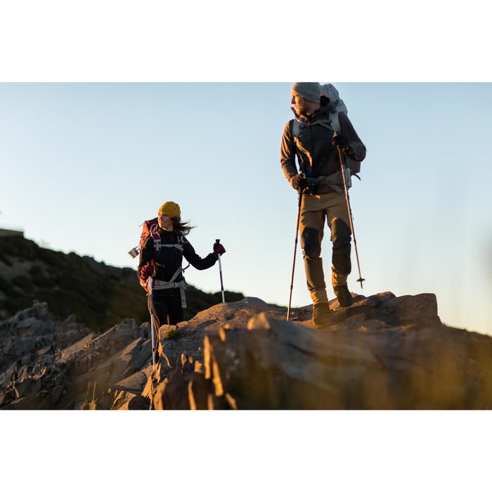 Veste trekking Windwarm 500 softshell femme - 1232757