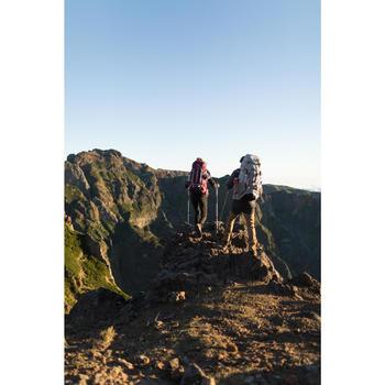 Sac à dos Trekking easyfit femme 50 litres violet - 1232766
