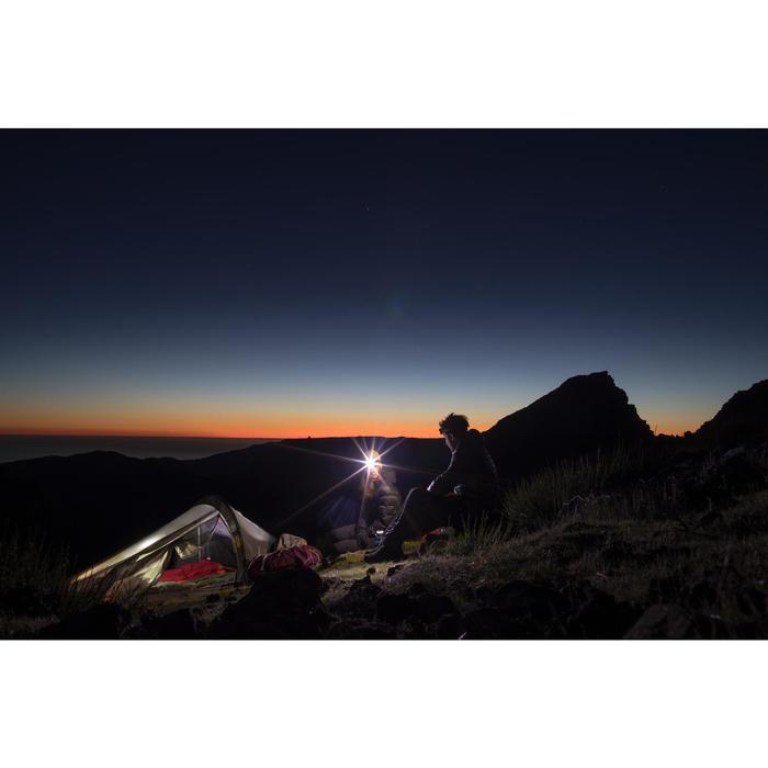 Trekkerstent Quickhiker Ultralight 2 personen lichtgrijs