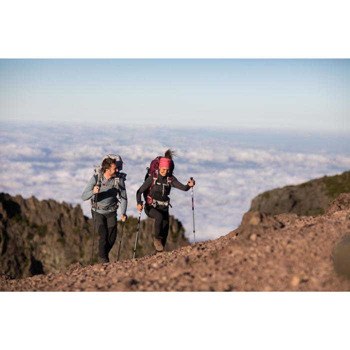 T- Shirt manches longues TREKKING montagne TECHWOOL 190 homme - 1232810