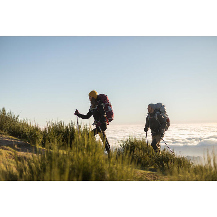 Veste trekking Windwarm 500 softshell femme - 1232814