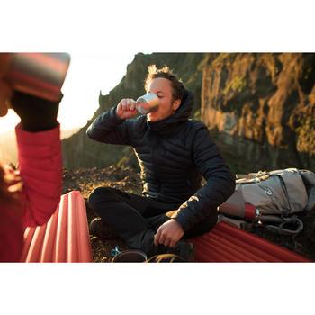 Doudoune trekking montagne TREK500 homme bleu marine