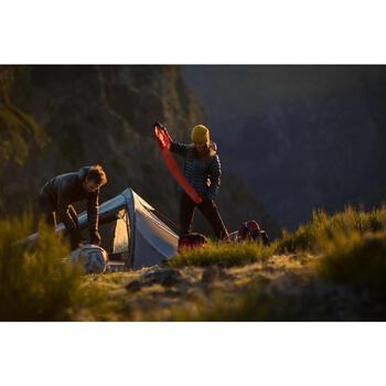 Matelas gonflable de bivouac / randonnée / trek FORCLAZ AIR rouge - 1232831