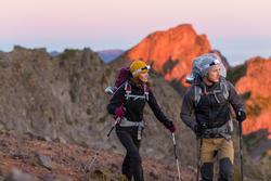 Mochila Trekking easyfit mujer 50 litros morado