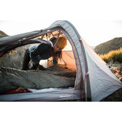 Tente de trekking - Quickhiker Ultralight 2 personnes gris clair