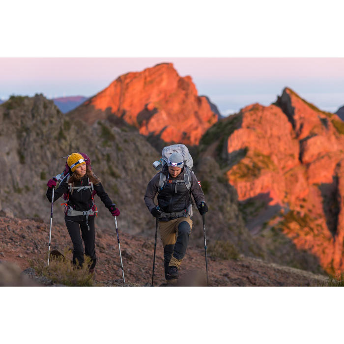 Veste trekking Windwarm 500 softshell femme - 1232857